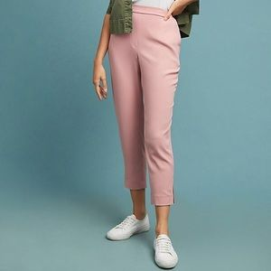 NWT Anthropologie Essential Crepe Pull-on Trouser